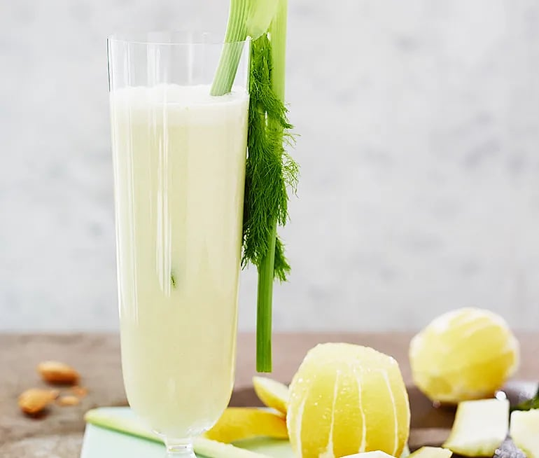 Lakritsaktigt- Juice med smak av fänkål