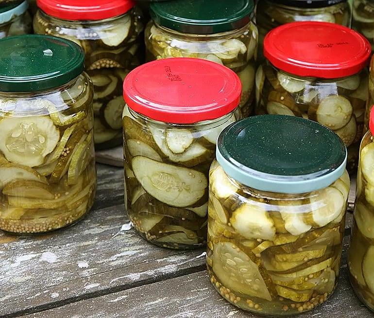 Inlagd gurka med pepparrot