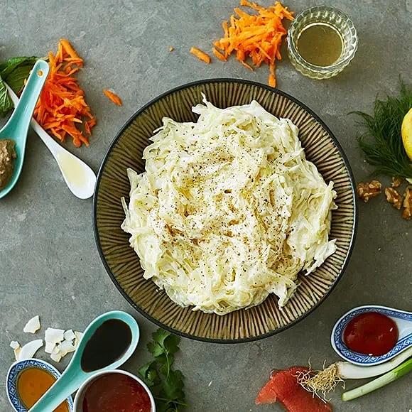 Coleslaw, grundrecept