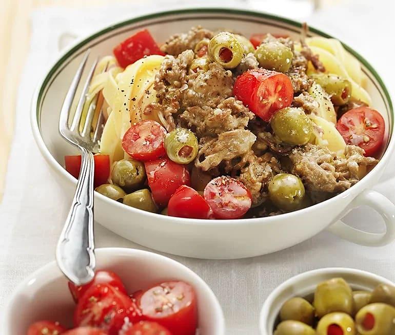 Lammfärs blanco med oliver