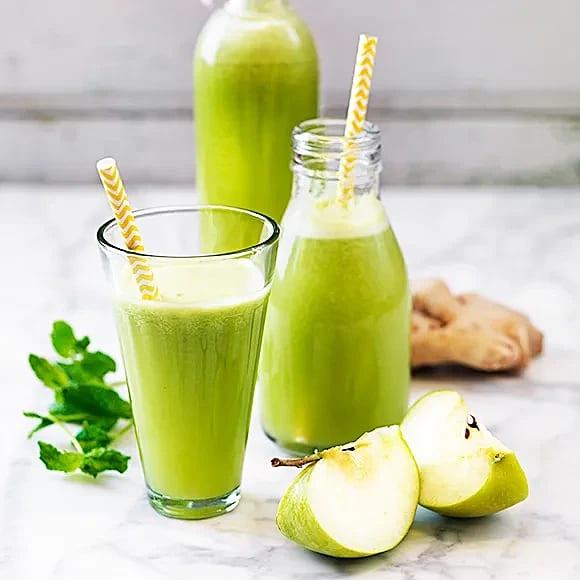Grön lemonad