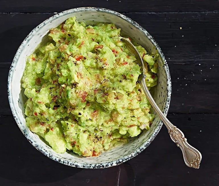 Grillad guacamole