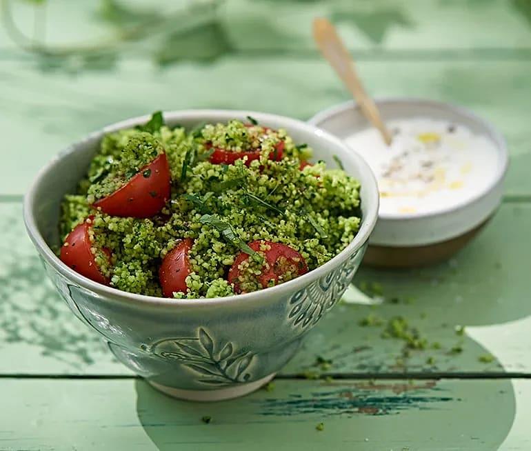 Grön couscous