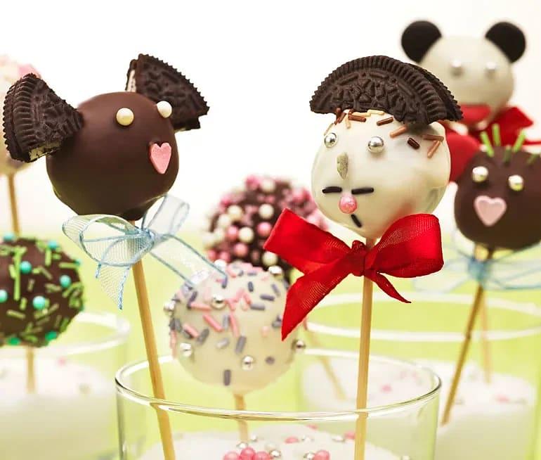 Enkla cake pops