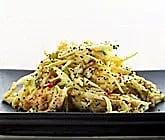 Coleslaw smaksatt med vallmofrö