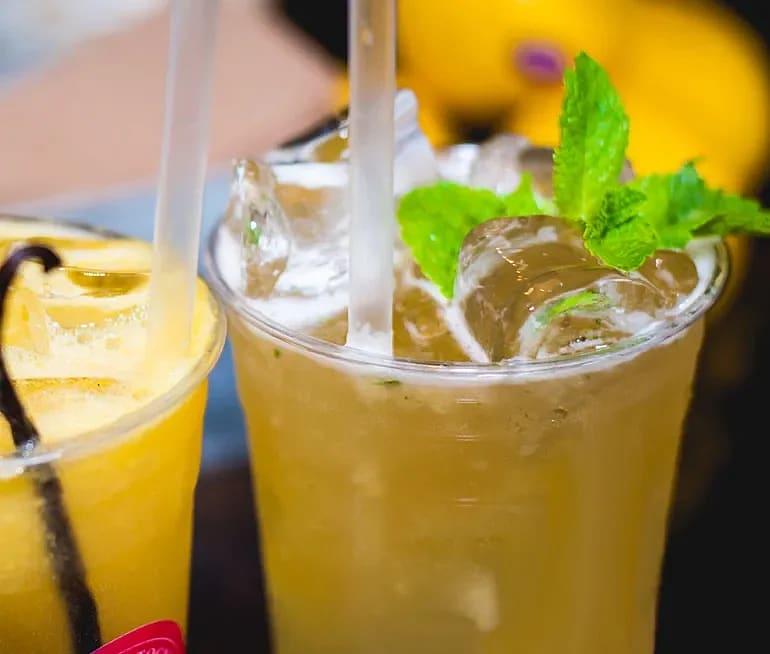 Alkoholfri drink på veteöl