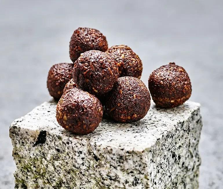 Choklad- och kaffebollar