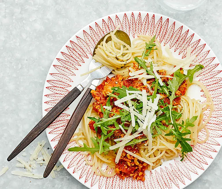 Spaghetti pollognese