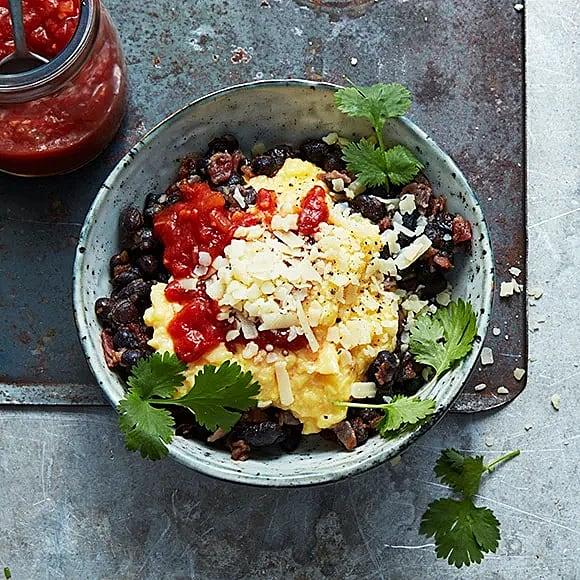 Mexikansk äggröre-bowl