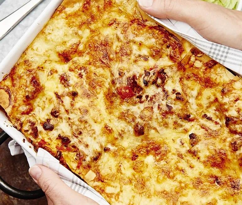 Lasagne med quornfärs