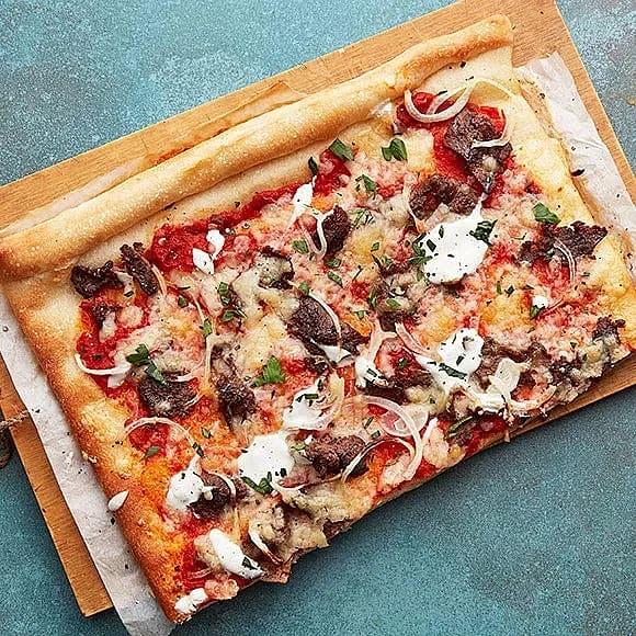 Vild kebabpizza