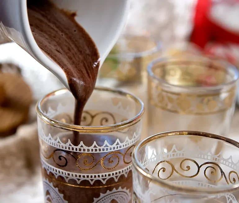 Varm chokladkräm