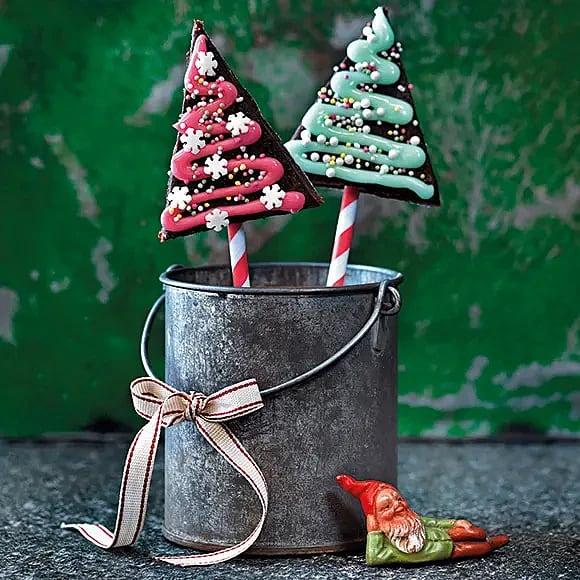 Ätbara julgranar