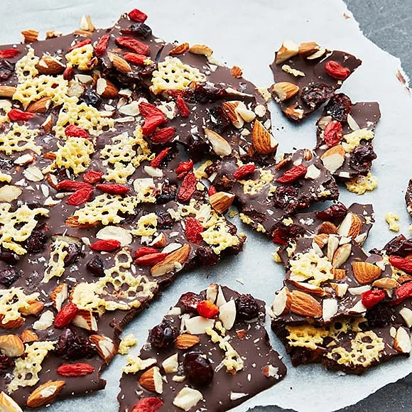 Ostigt chokladbräck