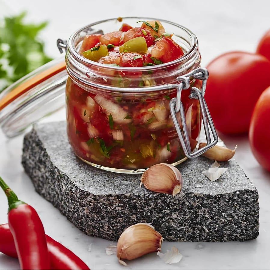 Fermenterad tomatsalsa