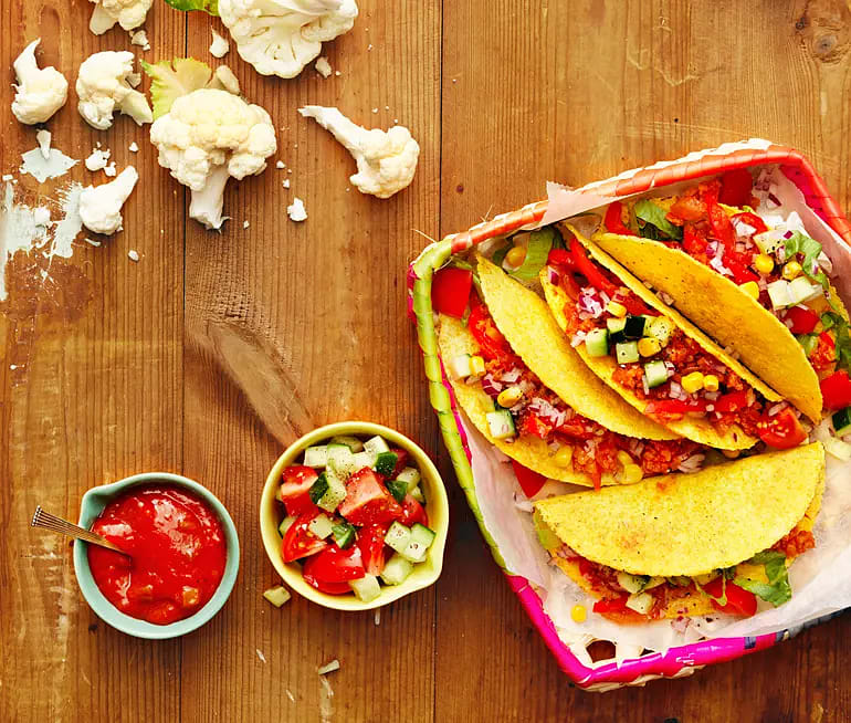Blomkålsstek till tacos