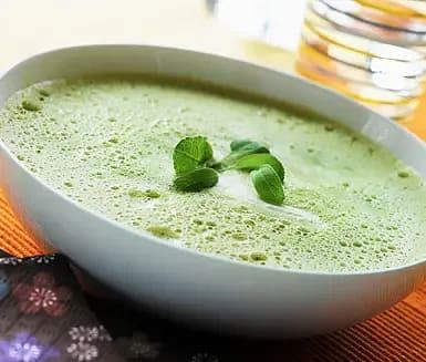 Crème Ninon - grön ärtsoppa