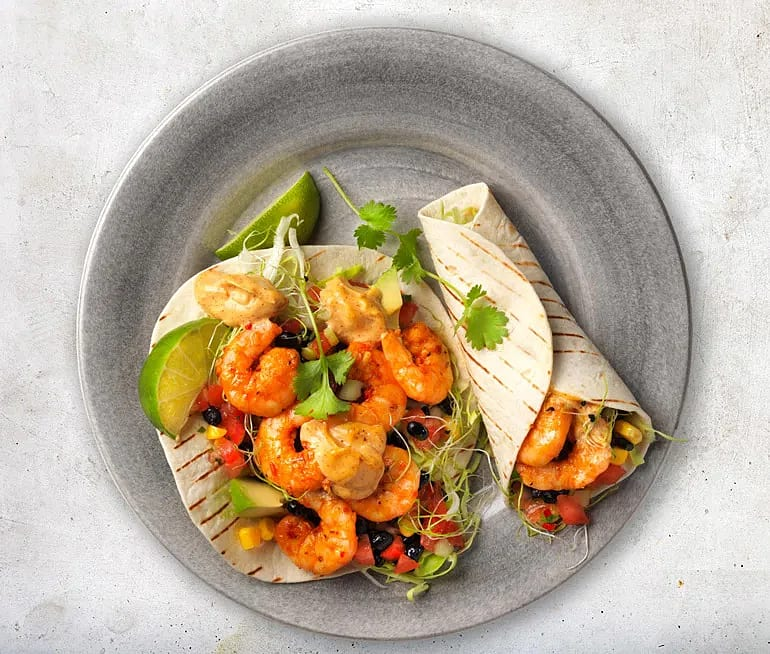 Taco mexican style