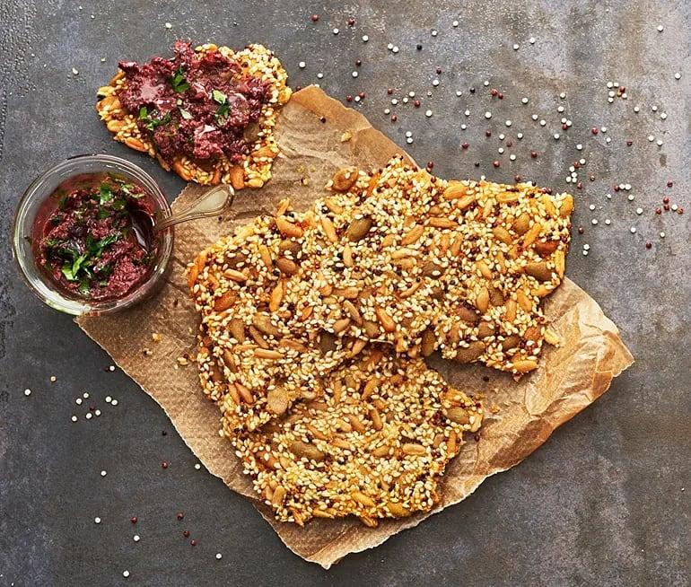 Quinoa- och fröknäcke