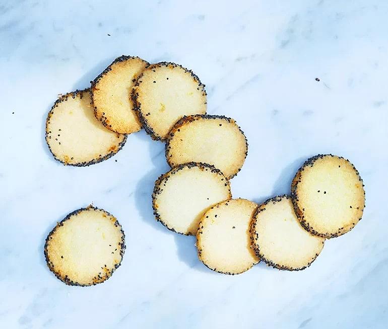 Vallmo- och citronkakor