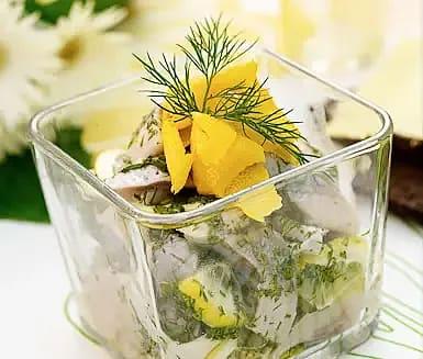 Sommarsill med citron