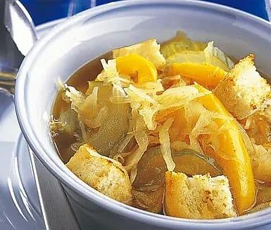 Soppa från Korea
