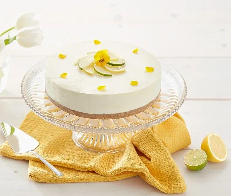 Citron- och limecheesecake