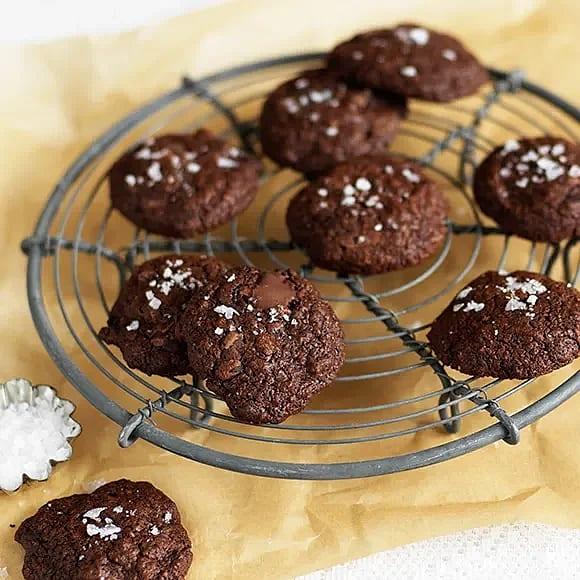 Kladdiga rågcookies