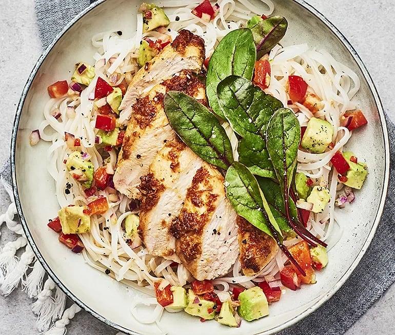 Kyckling med ingefära och lime