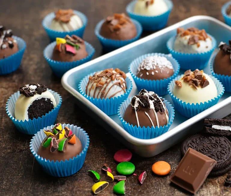 Oreo chokladbollar