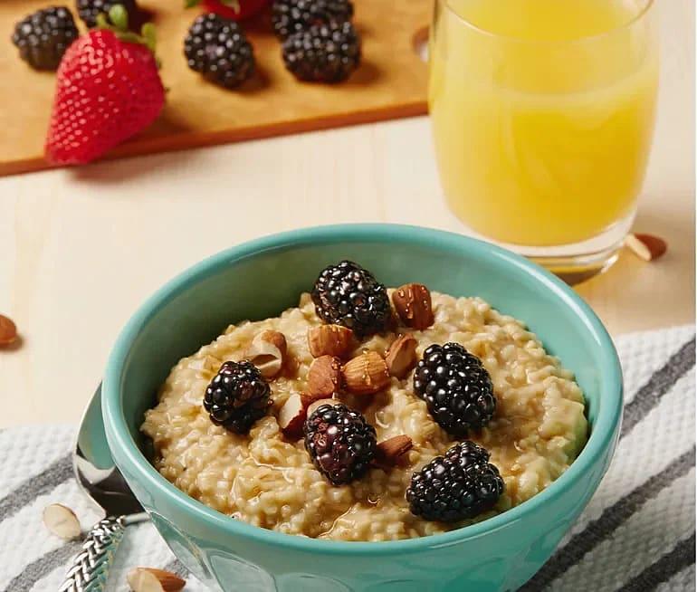 Overnight oats – gröt med apelsin och vanilj