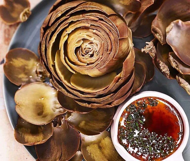 Kokta kronärtskockor med sojasmör