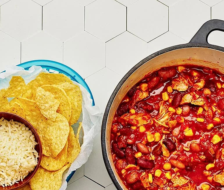 Kyckling chili