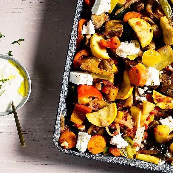 Grekisk grönsaksgryta