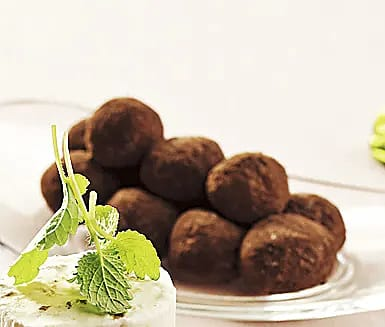 Chokladtryffel med lakrits
