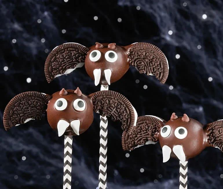 Oreo Halloween Cake-pops