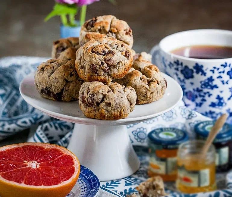 Glutenfria scones på durramjöl
