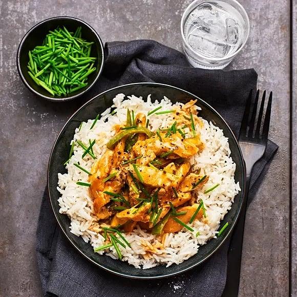 Kyckling i paneng curry