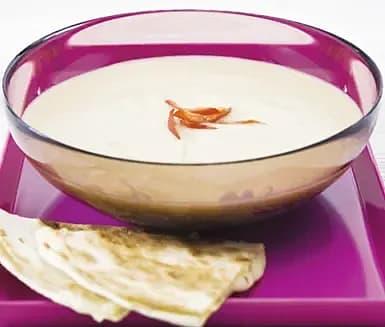 Palsternackssoppa med quesadilla