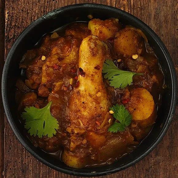 Kycklingcurry med ris