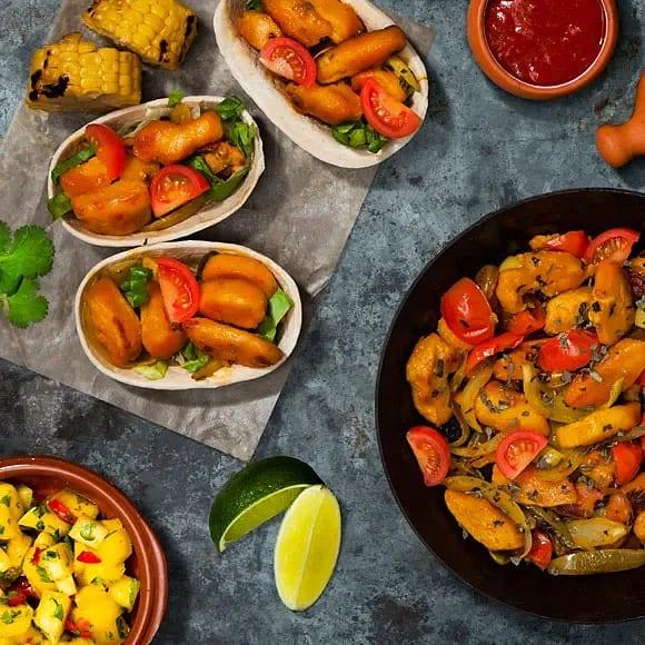 Tacos med mangosallad