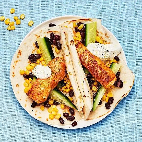 Snabb fish taco
