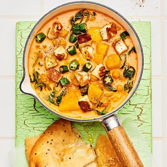 Vego curry med okra