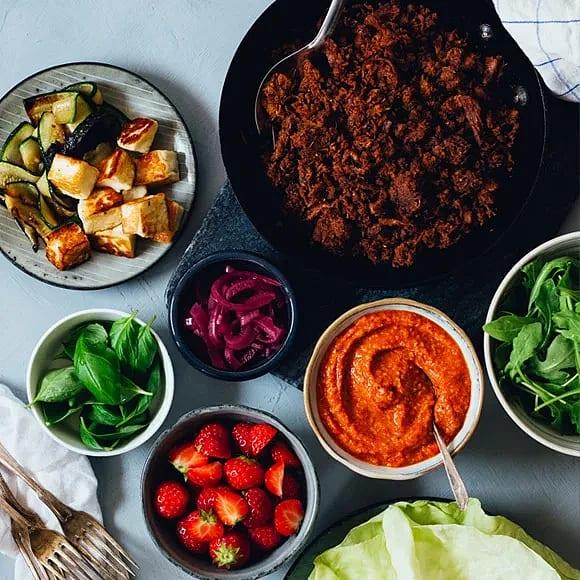 Vego Tacos med Pulled Oats