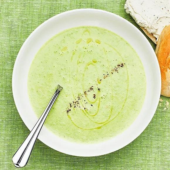 Soppa på gröna ärter