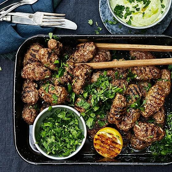 Grillad lammkebab