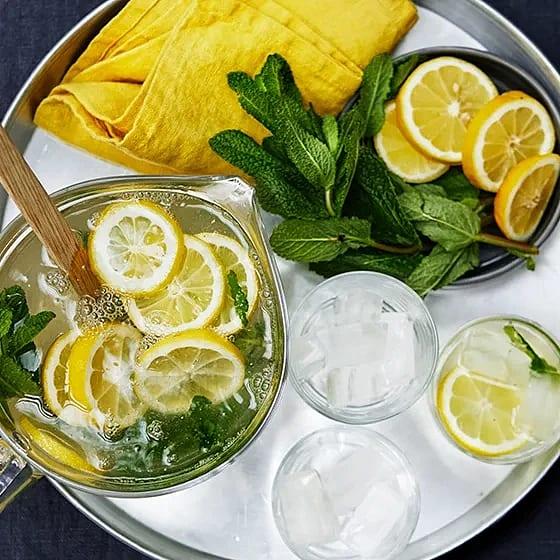 Läskande lemonana
