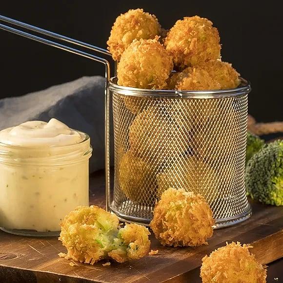 Hot & cheesy poppers - friterade ostbollar med chili