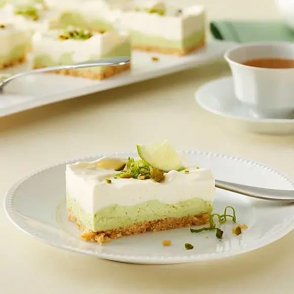 Cheesecake med avokado & lime