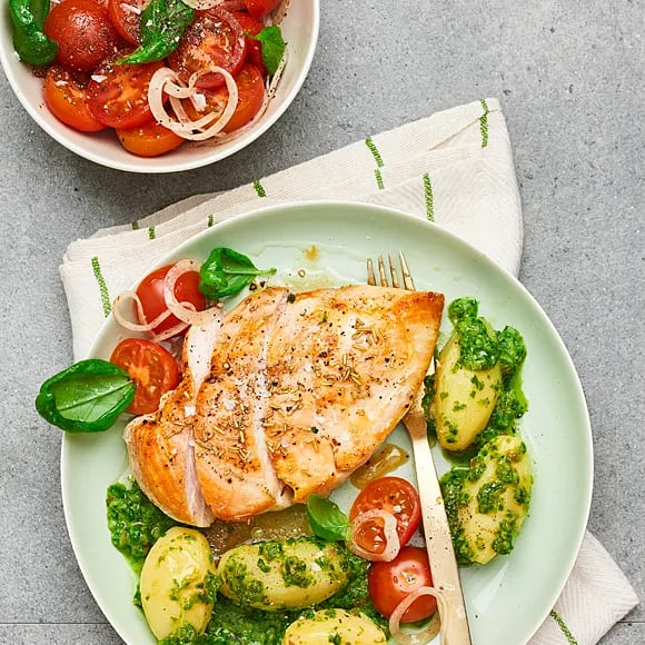 Kyckling med salsa verde